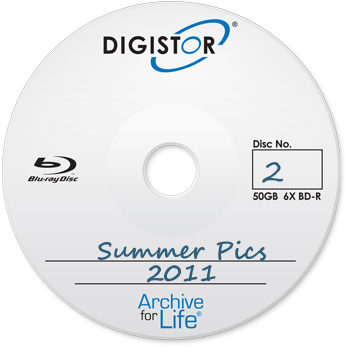 Digistor 50GB BD-R Recordable Media