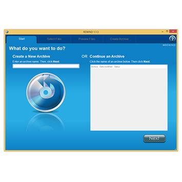DIGISTOR REWIND covers Windows 8.1 data archiving needs