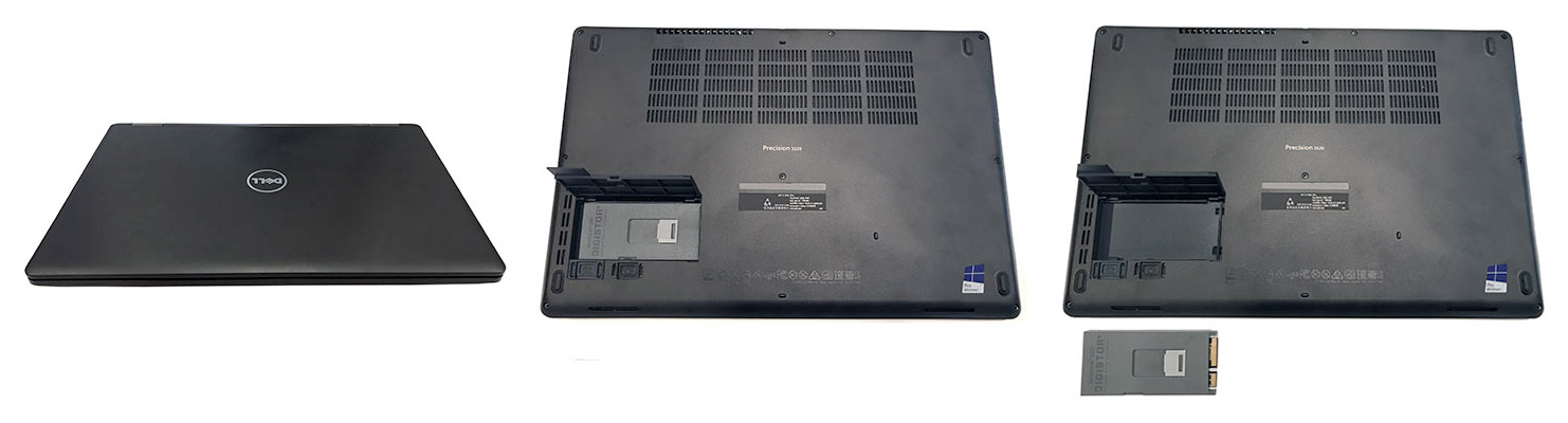 VaultDisk Removable Boot SSD for Dell Precision 3520 Workstations